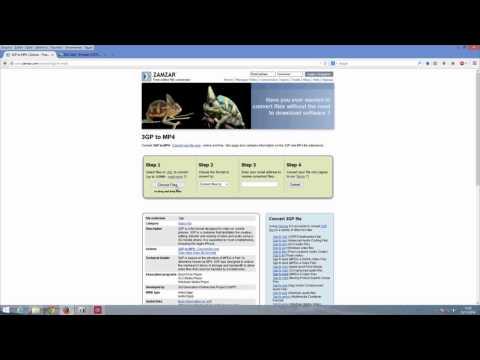 Como converter arquivo .3gp para mp3 mp4 ou outro formato facilmente