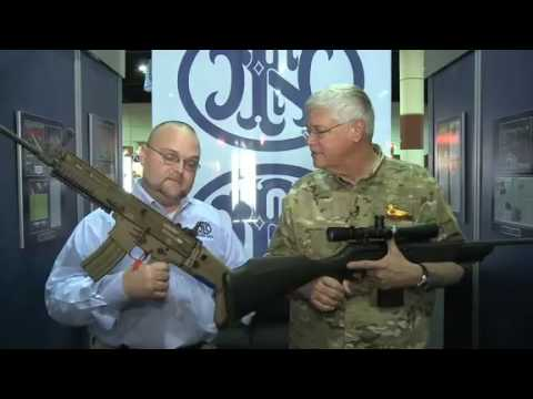 FN SCAR 16 & FNAR Rifle - FNH Interview at SHOT Show 2009