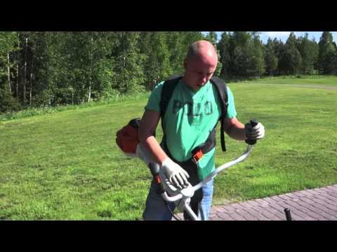Видео как выбрать бензиновый триммер