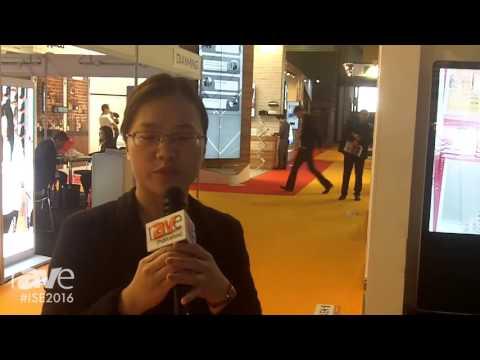 ISE 2016: Konka E-display Showcases Interactive White Board