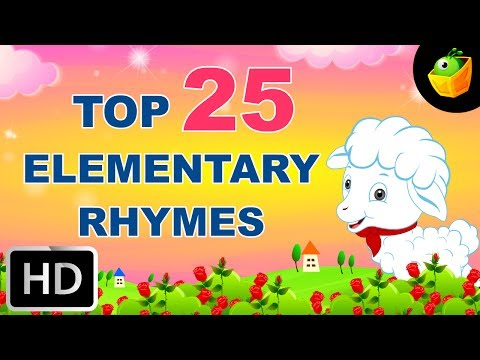 Top 25 Hit Songs For Elementary Kids -english Nursery Rhyme -collection Of Animated Rhymes For Kids video