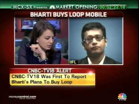 Loop's Rs 400cr debt won't burden Airtel: IIFL -  Part 1