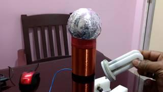 Tesla Coil (home made)-1