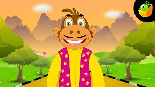 Laathi Lekar Been Bajata - Hindi Animated/Cartoon Nursery Rhymes For Kids
