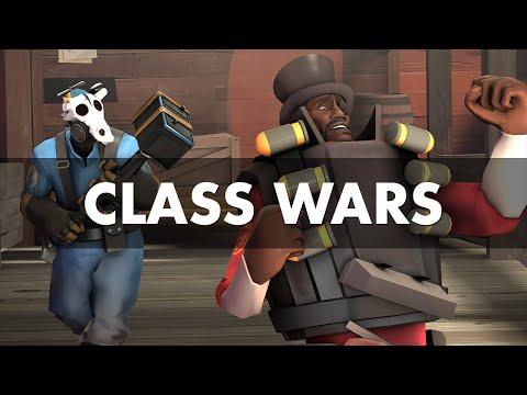 Demoman vs Pyro - Team Fortress 2 (Class wars)