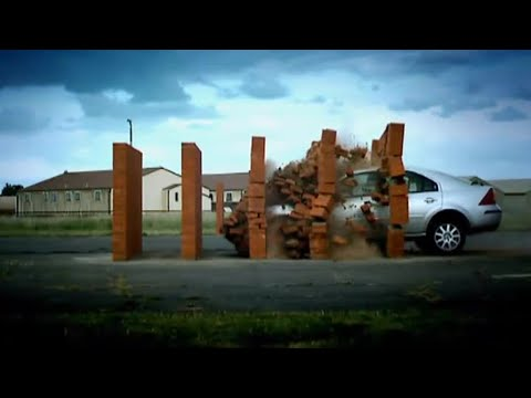 Brick Wall Crash Test – DIY Top Gear – Top Gear Uncovered
