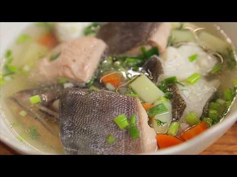 Камчатская уха. Рыбный край. Белая и красная рыба.