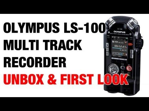 olympus ls 100 multi track linear pcm recorder 09 34 olympus ls 100 ...