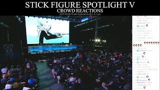 Crowd Reactions - Stick Figure Spotlight V (2016 Worlds LA Live)