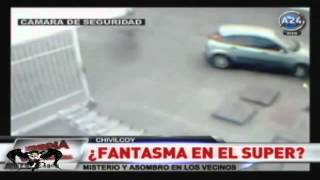 Fantasma en un super mercado