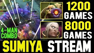 when 1200 Games Pudge vs 8000 Games Invoker | Sumiya Invoker Stream Moment #688