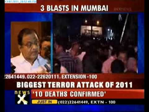 P Chidambaram: A coordinated attack by terrorists