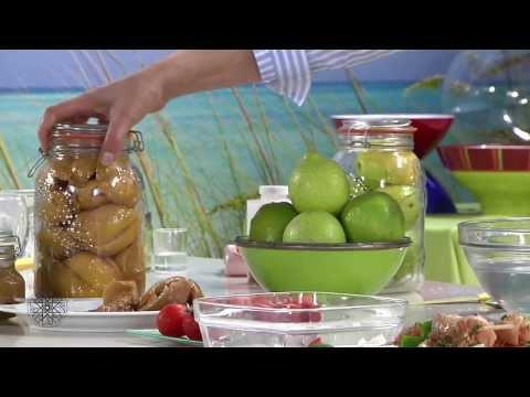 Choumicha : Brochettes de poulet au citron confit / شميشة: قطبان الدجاج بالليمون الحامض مصبر