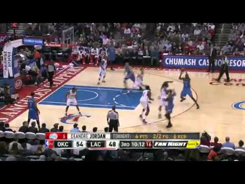 Oklahoma City Thunder vs Los Angeles Clippers - January 22, 2013