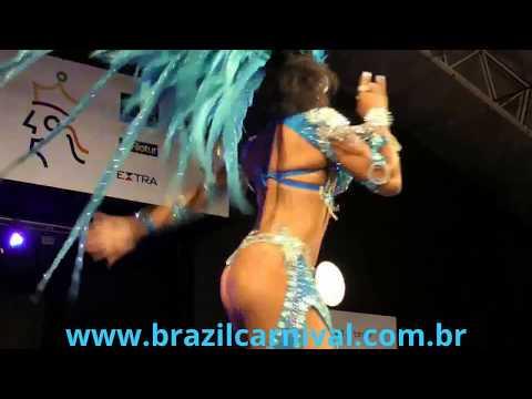 New 2015 Rio Carnival Princess HD - Video Nova 2° Princesa Carnaval do Rio