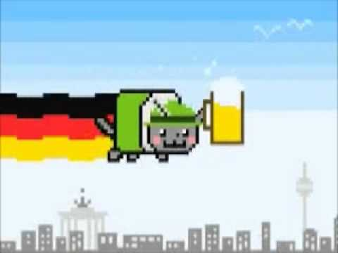 german nyan cat (march) Music Videos