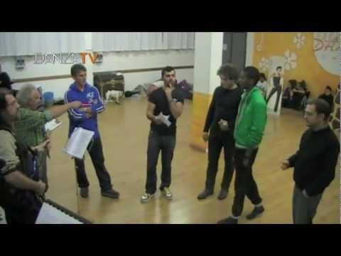DANZA TV – PIRATE il Musical con Luisa Corna – Sala prove
