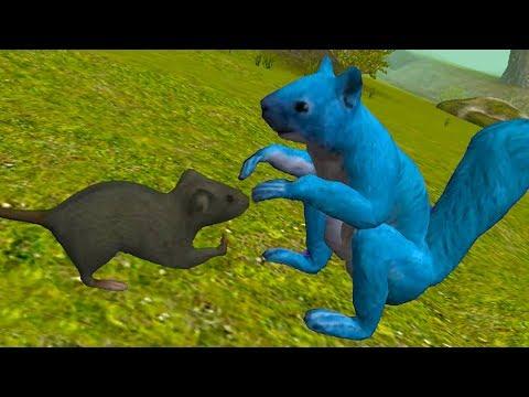 СИМУЛЯТОР Маленькой МЫШИ #5 белка и мышонок / Детский летсплей от Кида #ПУРУМЧАТА