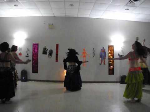10  Sandra LiLi's Belly Dance   Unveiled & Wet Naima