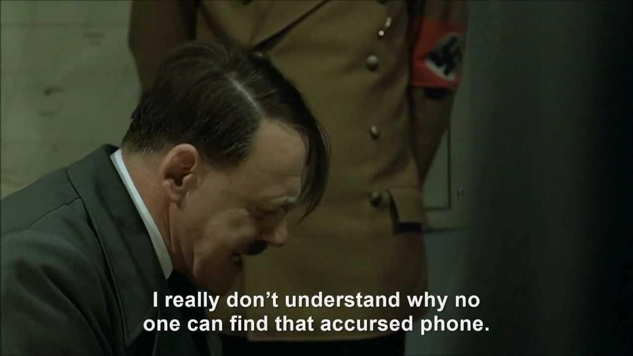 Hitler and the ringing telephone incident