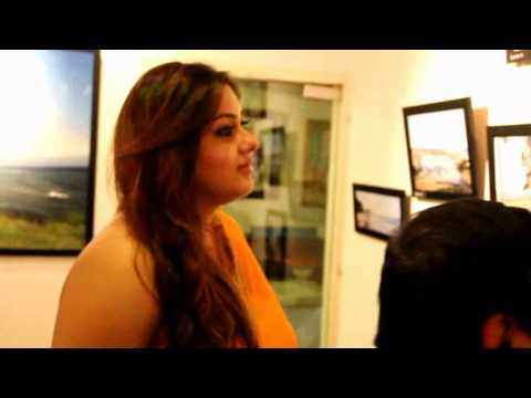 Namitha  Launches  Art Gallery video