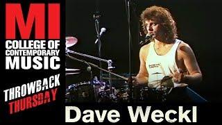 Dave Weckl - Musicians Institute(MI)がMIにて行われた31分のドラム・クリニック映像を公開 thm Music info Clip