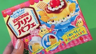 DIY Japans Snoep, Popin Cookin Pudding Parfait