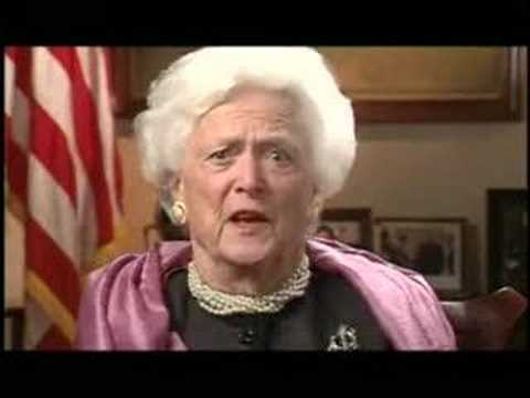Barbara Bush Video
