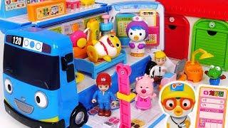 Go! Tayo Hospital Bus! Doctor and Ambulance play with Baby Shark, Pororo #PinkyPopTOY