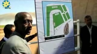 بالفيديو:زيارة وزير الرى لاسوان وافتتاح مشروع تأمين السد العالى
