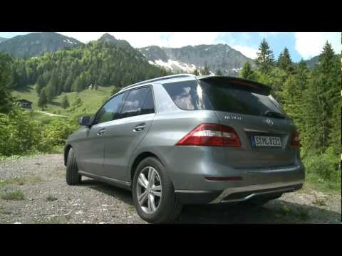 Mercedes ML 350 - Frs Gelnde viel zu schade