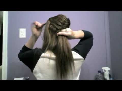 Around the head, French-braided, Fish-tail (Summer look)