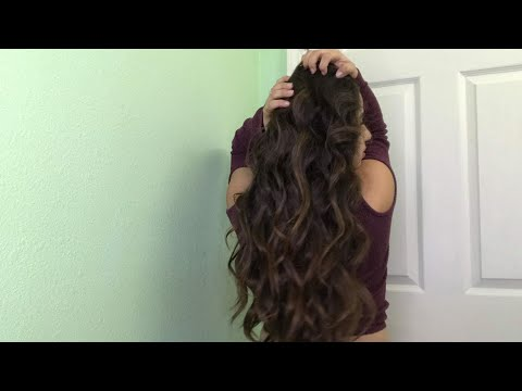 How To Curl Your Hair With A Wand! (The Difference Between Inward & Outward Curls)