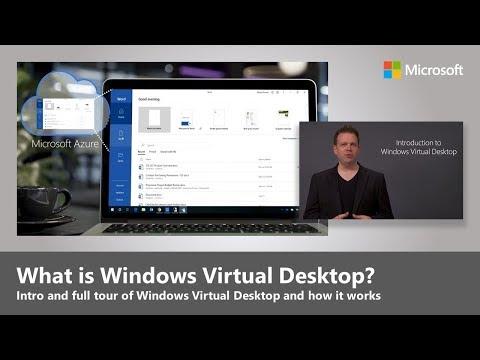 Windows Virtual Desktop Essentials | Intro and full tour