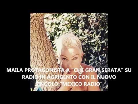 """MAILA PROTAGONISTA A """"CHE GRAN SERATA"""" SU RADIO IN AGRIGENTO"""