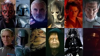 Defeats of my Favorite Star Wars Villains (Birthday Special)