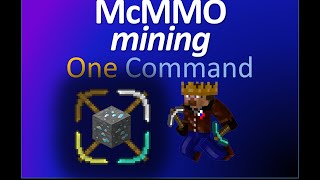 McMMO - Mining | Only  one command | TheBalliBoys
