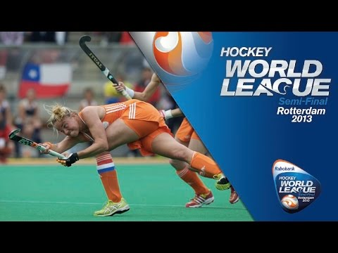 Netherlands vs Chile Women's Hockey World League Rotterdam Pool A [16/6/13]