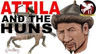 Attila and the Huns (Fall of the Roman Empire) Origin of the Hun Empire explained