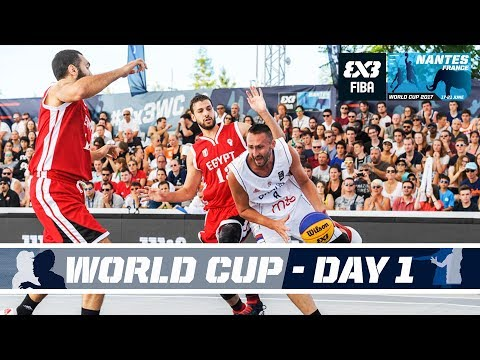 FIBA 3X3 World Cup 2017 - Nantes, France - LIVE - Pool Phase - Day 1
