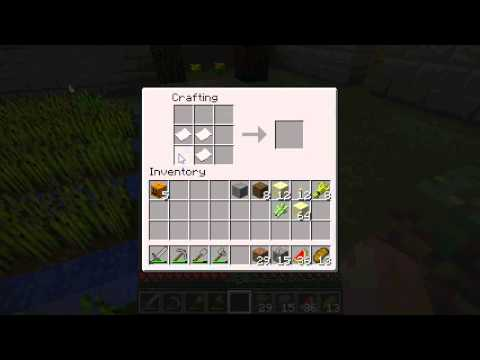 Minecraft - preparing for Book and Quill - YouTube