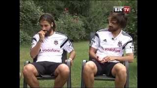 Futbolcularımız Veli Kavlak ve Olcay Şahan BJK TV'ye Konuştular