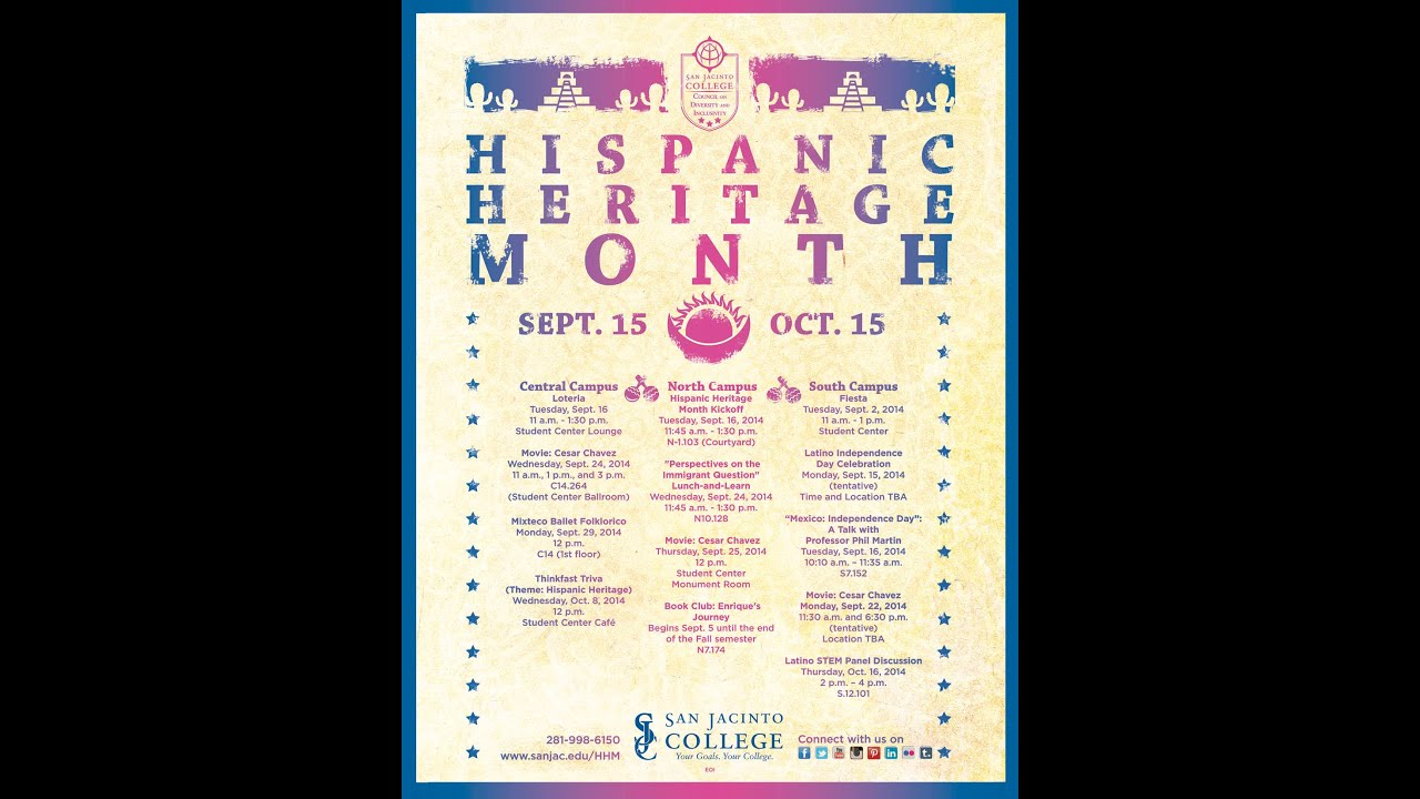 the importance of hispanic heritage Sept 15 was chosen as the starting point for the celebration of hispanic heritage month because facts about hispanic heritage the most important.
