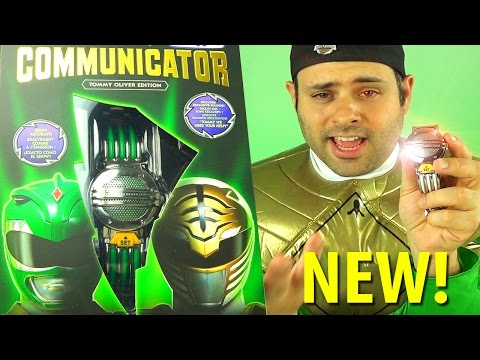 Mighty Morphin Power Rangers Legacy Communicator: Tommy Oliver Edition toy review!