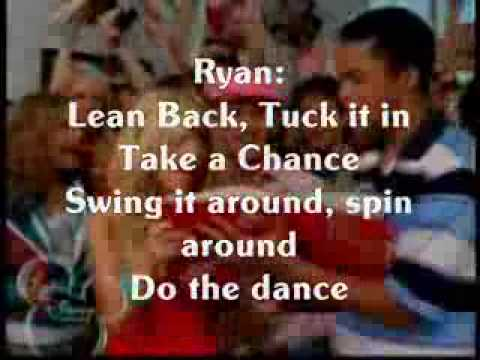 i don't dance with lyrics!!! high school musical 2