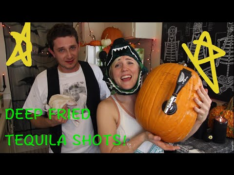 MY DRUNK KITCHEN: Halloween Deep Fried Tequila Shots