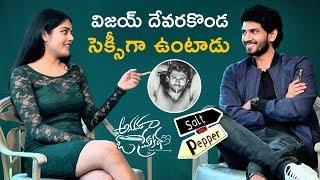 Riddhi Kumar about Vijay Deverakonda | Anaganaga O Prema Katha Salt and Pepper | Ashwin J Viraj