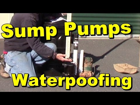 Backyard Sump Pump - Flow Rates - Test & Review