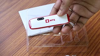 Unboxing MTS MBlaze Ultra WiFi 3G USB Dongle