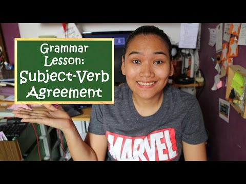 Subject-Verb Agreement - English Grammar - Civil Service Review